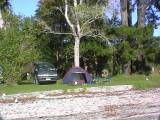 Sandspit camp site